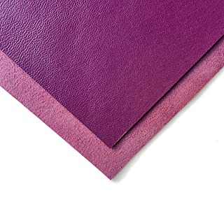 Genuine Sheepskin Leather for Bookbinding (Purple Passion, 8x10In/ 20x25cm)