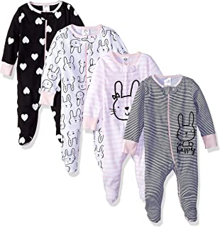 Baby Girls' 4-Pack Sleep N' Play