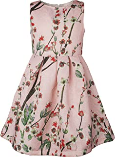 Girls' Lovely Flower Pattern Dresses for Special Occasions