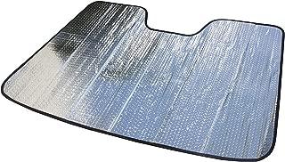 AutoTech Zone 2015-2018 Ford F150 Crew CAB 遮阳罩,定制适合挡风玻璃遮阳罩