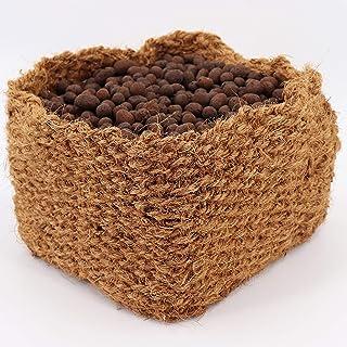 Aquagart Kokos koszyk na rośliny do stawu I koszyk na staw – odpowiedni do wody brzegów i spalenia I do naturalnego stawu ...