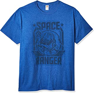 Disney mens Toy Story Buzz Lightyear Space Ranger Graphic T-shirt Shirt