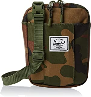 Herschel Cruz Unisex Cross body Bag, Woodland Camo