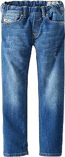 Diesel Little Boys' Payski J-El Elastic Waist Superstretch Pull-On Jeans
