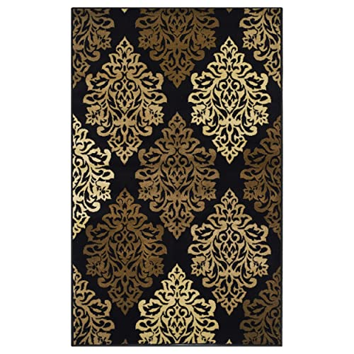 Black And Brown Rug Amazon Com
