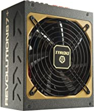 Enermax Revolution87+ 1000W 80 Plus Gold Certified Modular Power Supply with 13.9cm Twister-Bearing Fan and 100% 105°C Jap...