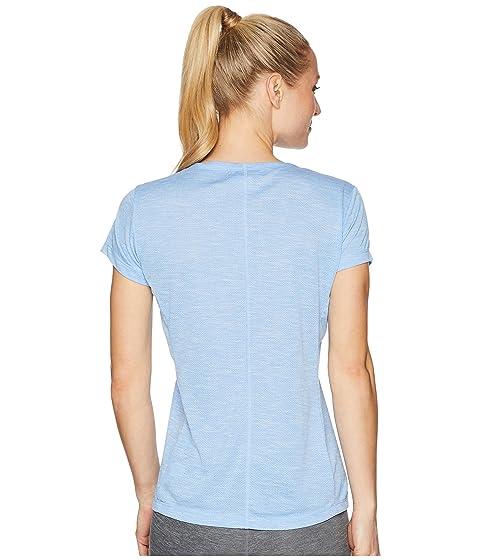 Bug azul corta manga de Free Trail Provence Sierra White Camiseta 6gvqwx