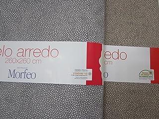 Beige, Matrimoniale 260x260 PAGO POCO Telo Arredo Copritutto Multiuso in Tinta Unita Tutti i Colori Singolo e Matrimoniale 100/% Cotone Novita 2020!!!!