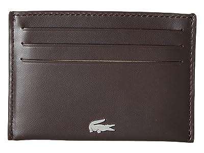 Lacoste FG Credit Card Holder (Dark Brown) Credit card Wallet