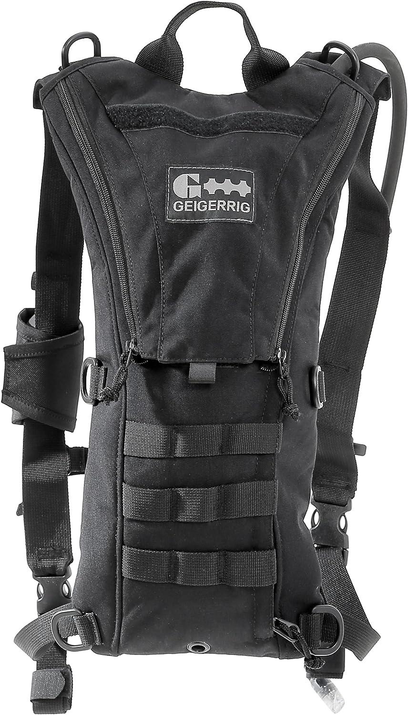 Geigerrig Tactical Rigger 70oz Hydration Pack  2 Litre  (Black)