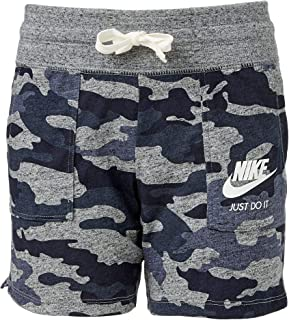 Girl's Sportswear Gym Vintage Camo Shorts