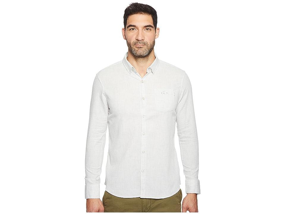 Image of 7 Diamonds Myth Long Sleeve Shirt (Light Grey) Men's Long Sleeve Button Up