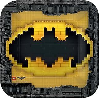 DC Comics Lego Batman Paper Plate, 23 cm