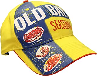 Seafood Seasoning Label Men's Baseball Cap Hat (one Size, Adjustable)