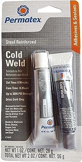 Permatex 14600 1 oz frío soldadura compuesto Pegar 2 Count