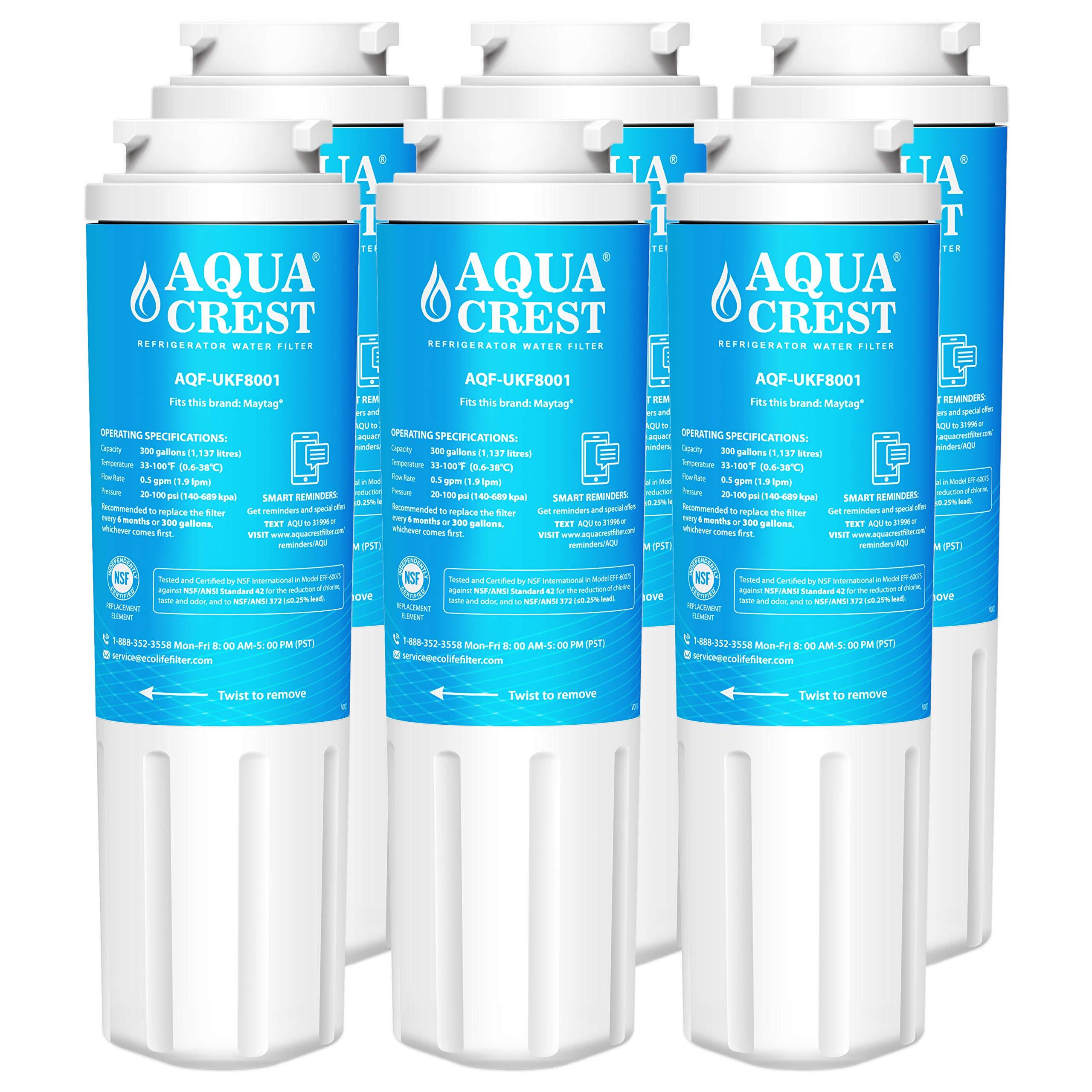 Maytag ukf8001 ukf8001axx pur compatible fridge water filter