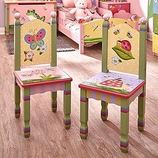 2 sillas de madera MagicGarden FantasyFieldspara niños (sin mesa) W-7484A/2