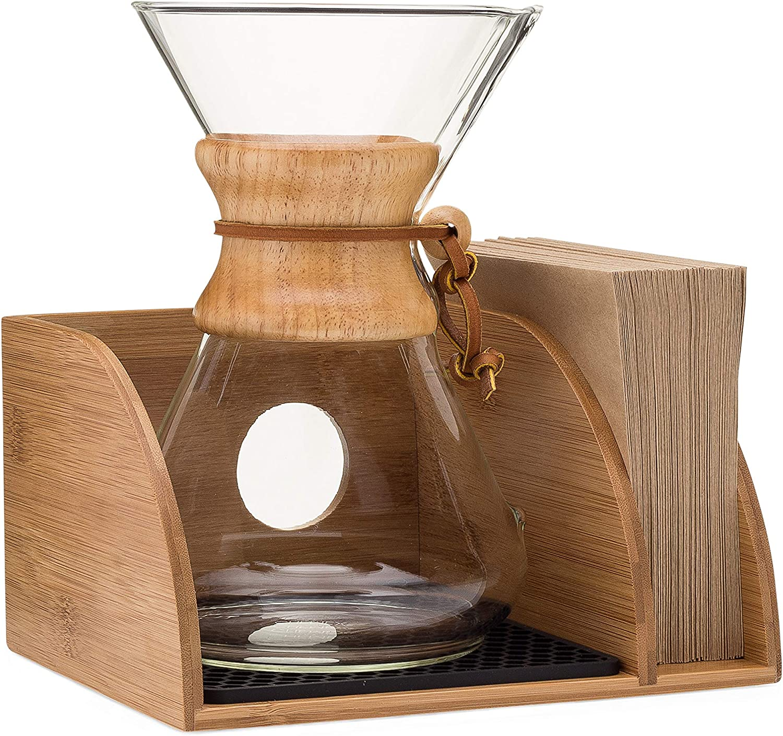 Cipamnel Max 79% OFF Organizer for Chemex Coffee E with Max 55% OFF Mat Maker Silicone