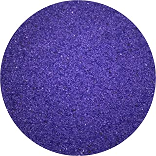 CYS EXCEL 1 Pound (1-1/2 Cups) Multi-Colored Sand for Weddings, Vase Filler, Home Decor, Craft Art Sand, Wedding Unity (1 Pound, Violet)