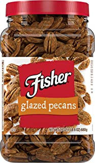 FISHER Snack Glazed Pecans, 24 oz