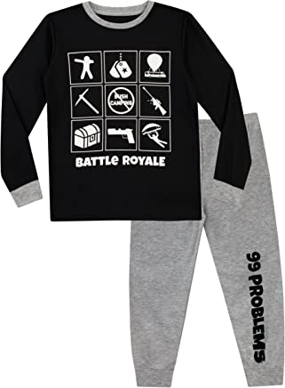 Battle Royale Pijama para Niños Gaming