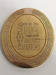 Mine is so Big Cribbage Board