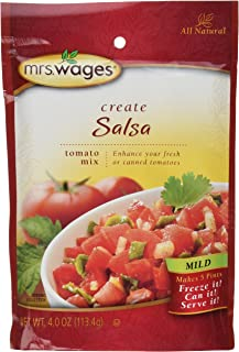 Mrs Wages Mild Salsa Mix-6 packages, 4oz each
