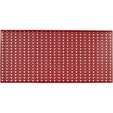 Blinky 5/578 Panel Soportes Expo Perforados, Langosta, 1000 x 500 mm, Rojo