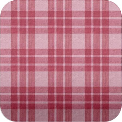 rot karierten Mustertapete ver34 rot und rosa