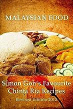 Simon Goh's Favourite Chinta Ria Recipes