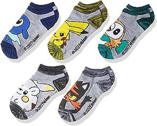 Pokémon boys E80441 5-pack No Show Socks Socks