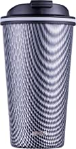 Avanti Go Cup Double Wall Travel Cup, Carbon, 13454