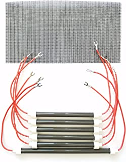 Eden Set of 6 OEM Bulbs/Heating Elements + Filter for Models XL 1000 & GEN3 1000 Heaters and More
