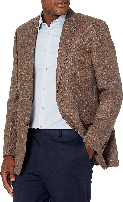 Tommy Hilfiger Men's Blazer Modern Fit Seersucker Suit Separates-Custom Jacket & Pant Size Selection