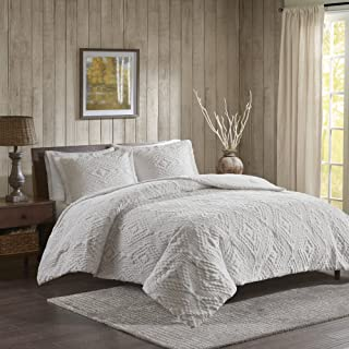 Woolrich Teton King/Cal King Size Quilt Bedding Set - Ivory, Embroidered – 3 Piece Bedding Quilt Coverlets – Ultra Soft Microfiber Bed Quilts Quilted Coverlet