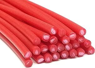 Alambre de soldadura de plástico PE-HD 4mm Redondo Rojo (RAL3020) HDPE 25 barra