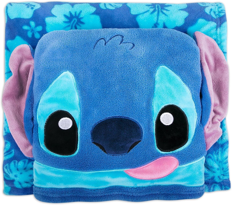 Disney Stitch セール Fleece ギフト Throw Lilo -
