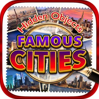 Hidden Objects World Famous Cities – New York, Paris, Italy, London, LA, Vegas, Florida, Chicago, Hong Kong & Object Time Travel Puzzle Pic Photo Spot Differences Game