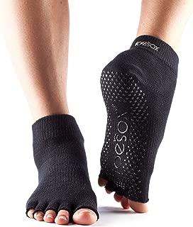 ToeSox Grip Pilates Barre Socks – Non Slip Ankle Half Toe for Yoga & Ballet