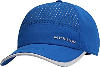 MISSION Women's Hydroactive Max Laser-Cut Performance Hat