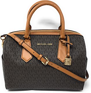 Michael Kors Hayes Large Duffle Satchel Bag