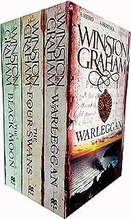 Winston Graham Poldark Series Trilogy Books 4, 5, 6, Collection 3 Books Set, (The Four Swans: A Novel of Cornwall 1795-1797, The Black Moon: A Novel of Cornwall 1794-1795 and Warleggan: A No