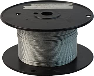 SwageRight W-22-002-500 Wire Rope, 1/16