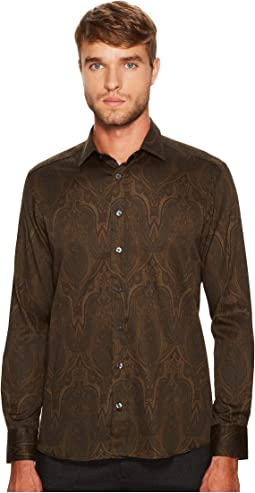 Etro - Shadow Paisley Button Down