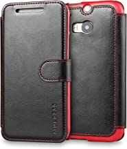 M8 Case,HTC One M8 Case Wallet,Mulbess [Layered Dandy][Vintage Series][Black] - [Ultra Slim][Wallet Case] - Leather Flip Cover with Credit Card Slot for HTC One M8