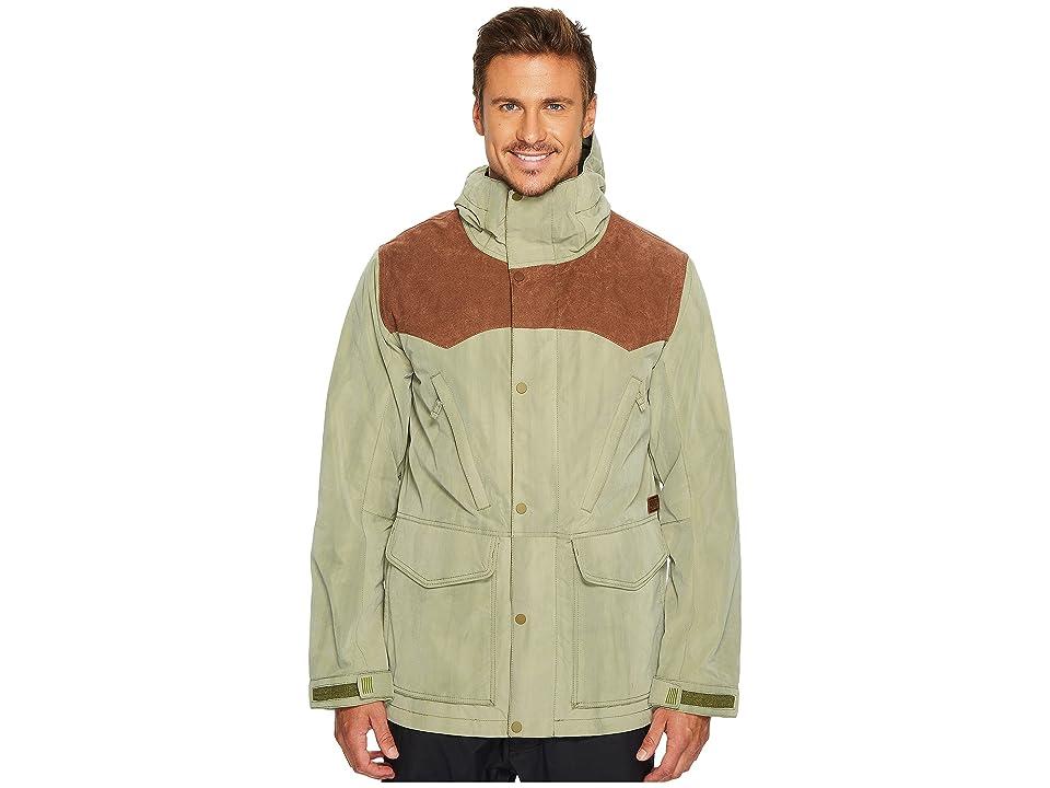 Burton Folsom Jacket (Chestnut Suede/Olive Branch Distress) Men