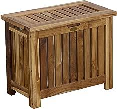 DecoTeak  Solid Bench, Brown