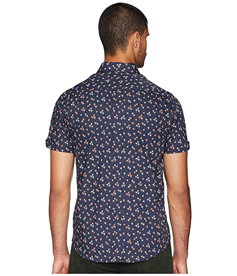 Ben Shirt Tree Sherman Print Palm Sleeve Short 6cr70ZWc1