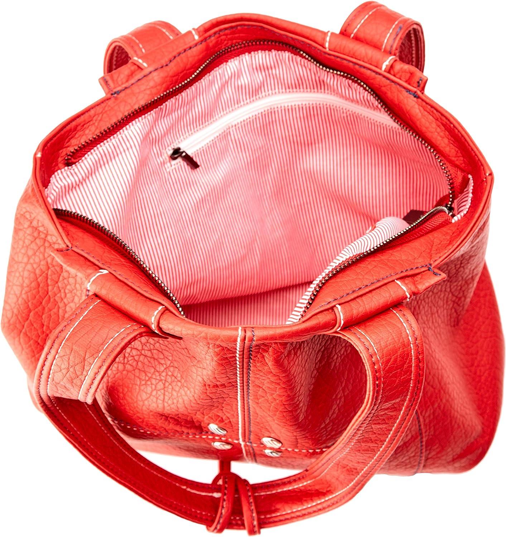 ctta caminatta S3003, Sac pour femme à porter à l'épaule 12x28x32 cm (W x H x L) Rouge (Rojo 08)