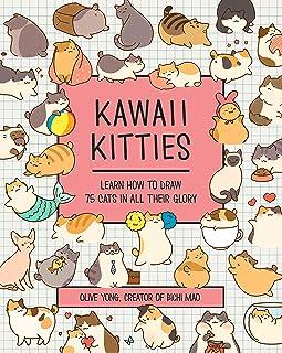 Kawaii Kitties: Learn How to Draw 75 Cats in All Their Glory (Kawaii Doodle) (English Edition)